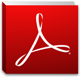 Adobe Reader X computer icon