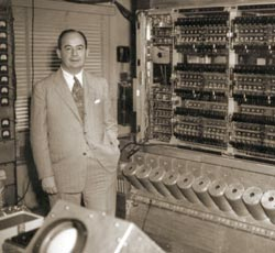 von Neumann and the MANIAC
