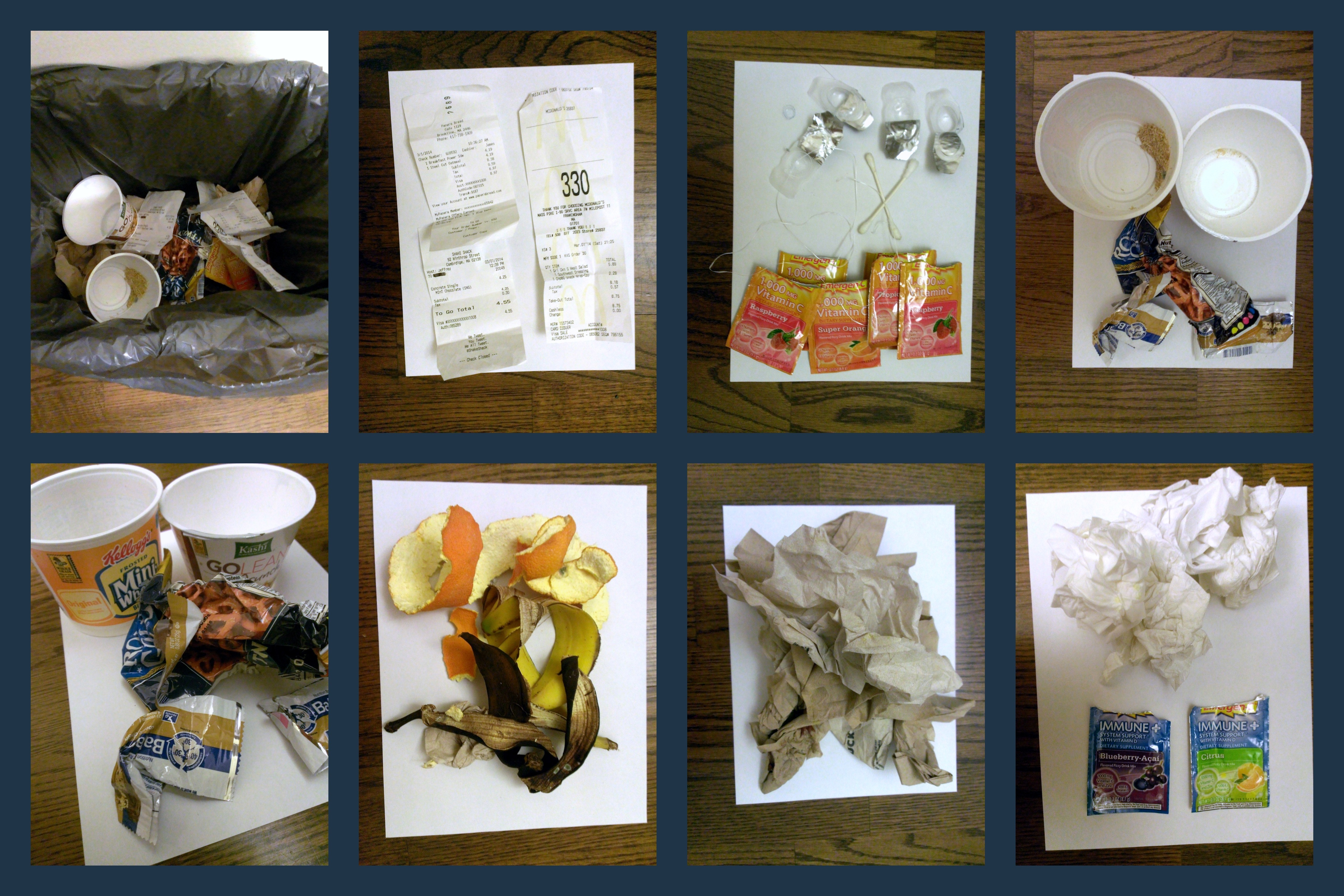 Trash Collage