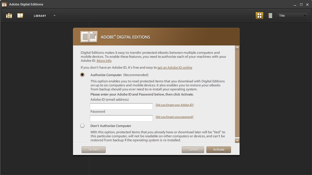 how to download adobe the first time