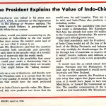 The value of Indochina