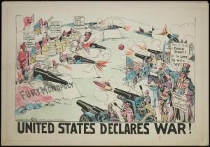 United States Declares War! MC156, Box 1, Folder 4