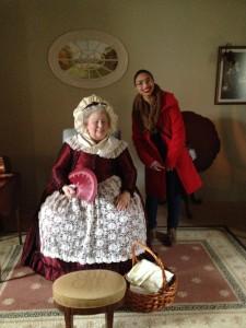 Elena meeting Martha