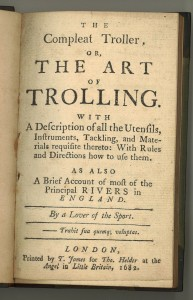 Robert Nobbes (1652-1706?). The Compleat Troller. [London, 1790?]. ESTC R202195. Title page.