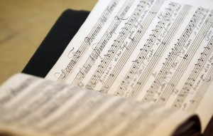 A detail shot of a manuscript for George Frideric Handel's three-act opera Berenice at Firestone Library in Princeton on Friday, January 25, 2013. Andrew Miller/For The Times of Trenton