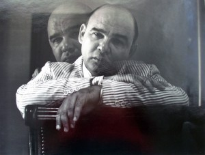 Kamel Ouidi, Portrait of Severo Sarduy, ca. 1980. Gelatin silver print.