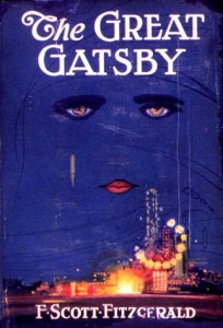 Dustjacket for the first edition of the Great Gatsby (Publisher, Year).