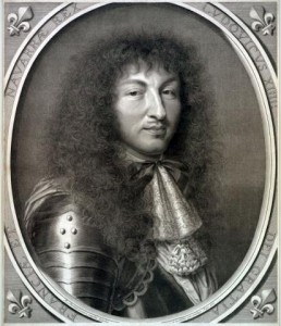 Robert Nanteuil. Louis XIV, 1666. Engraving. Graphic Arts Collection. Gift of John Douglas Gordon, Class of 1905.