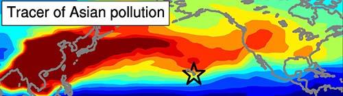 Asian air pollution