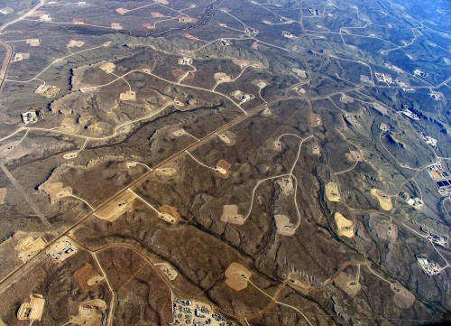 Shale-gas extraction in Wyoming