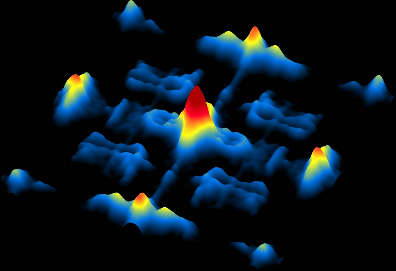 Electrons on the surface of a Weyl semi-metal