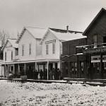 Main St. from S.E. Corner of Water St., 1880.