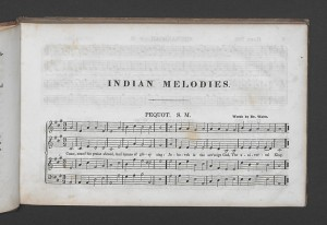 Thomas Commuck, Indian Melodies, Harmonized by Thomas Hastings, Esq. New York: G. Lane & C. B. Tippett, 1845.
