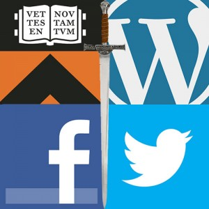 PU netID, WordPress.com, Facebook, Twitter