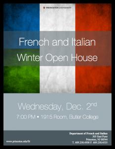Dec. 2nd, Butler College, 7pm
