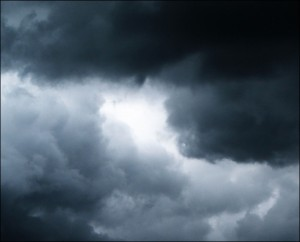 Picture of a stormy sky