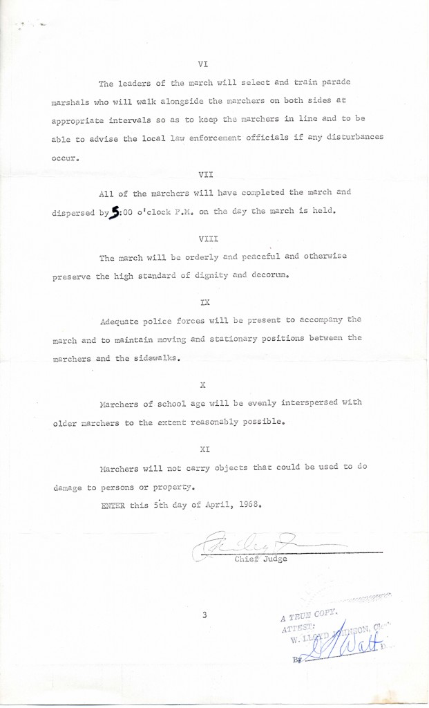 Opinion and Temporary Injunction (page 3), ACLU Records, Subgroup 2, Box 656, Folder 2