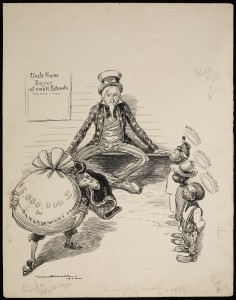 Uncle Sam, Buyer of Small Islands, MC068, Box 44.