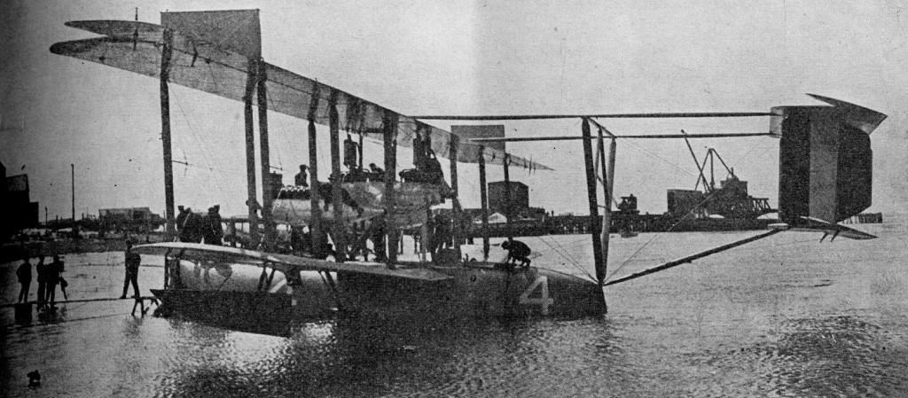 NC-4 preparing for transatlantic crossing 1919 PAW 24 Feb 1928