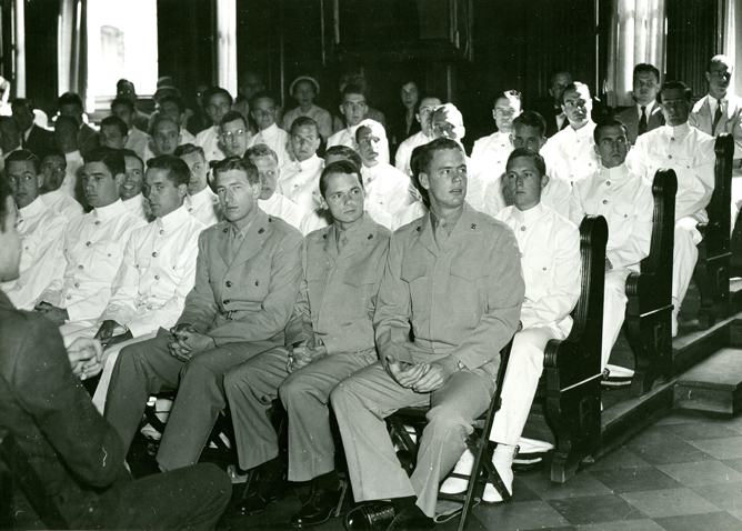 AC112_Box_MP190_5116_ROTC_Class_of_1950_Nassau_Hall