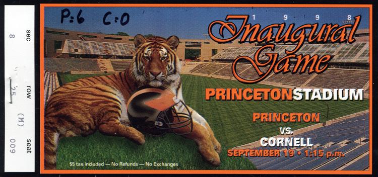 Princeton_v_Cornell_1998_ticket_AC042_Box_18