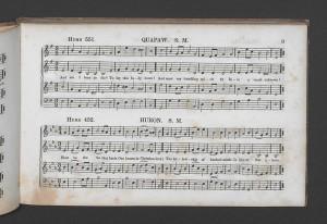 Thomas Commuck, Indian Melodies, Harmonized by Thomas Hastings, Esq. New York: G. Lane & C. B. Tippett, 1845.