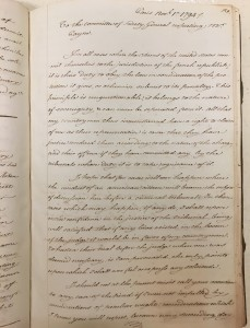 James Monroe letter book as Minister to France, 1794-1795 (C0938 No. 699)