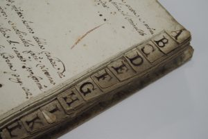 Commonplace book tabs
